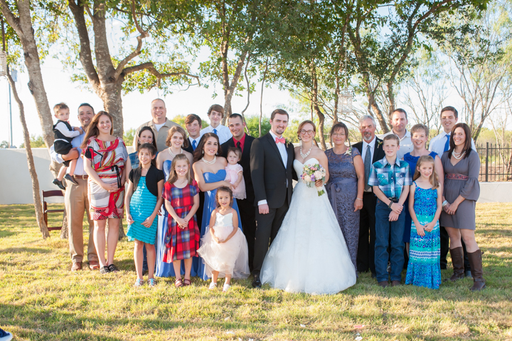 Our Family and the first Thistlewood Wedding